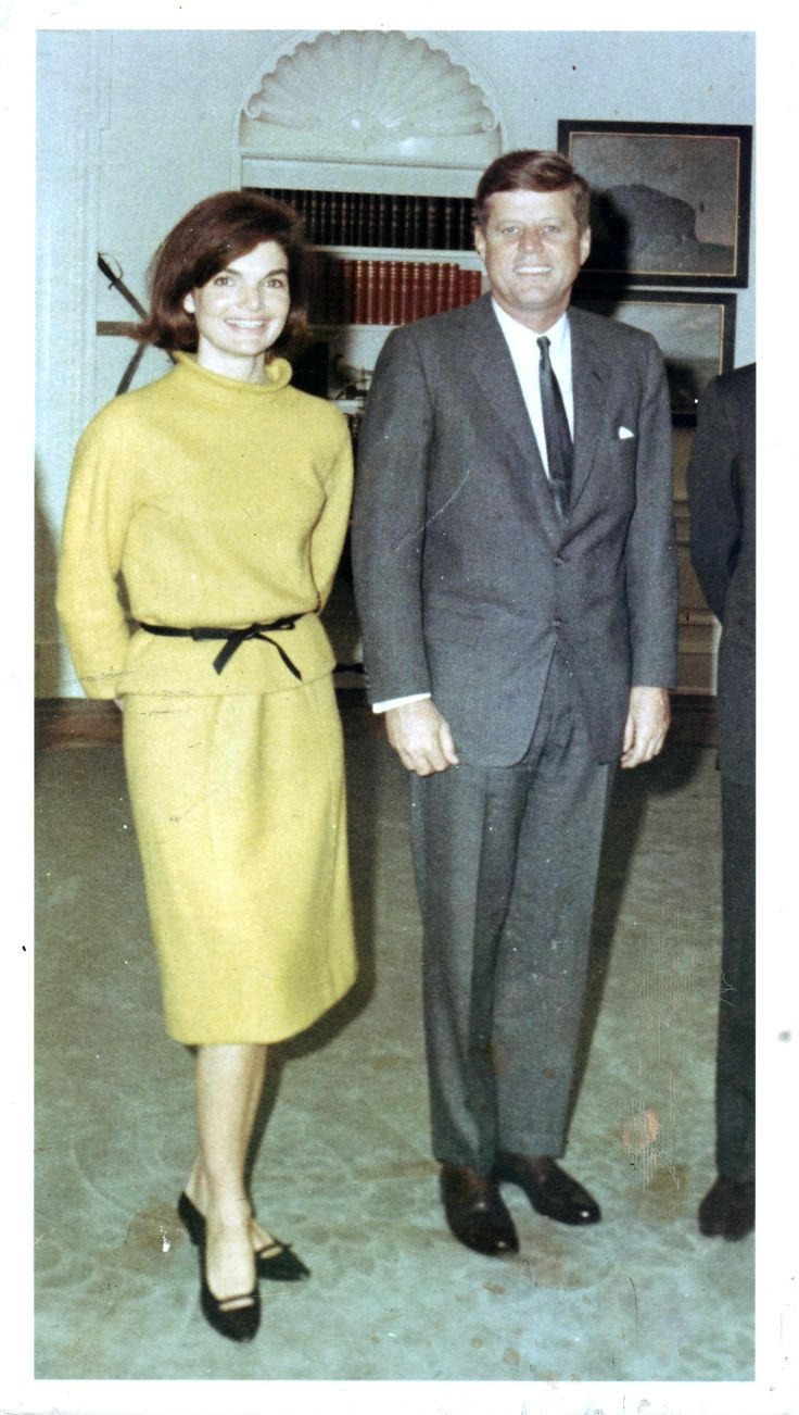 Jackie and President Kennedy