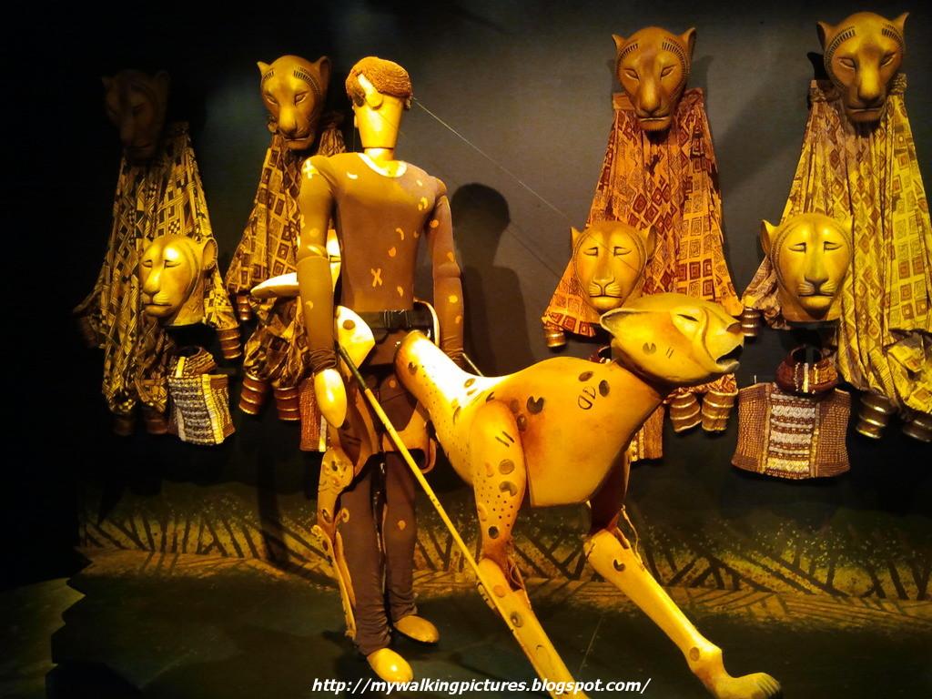 Lion king cheetah puppet - photo#15