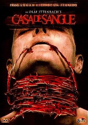 Filme Poster Casa de Sangue DVDRip XviD & RMVB Dublado