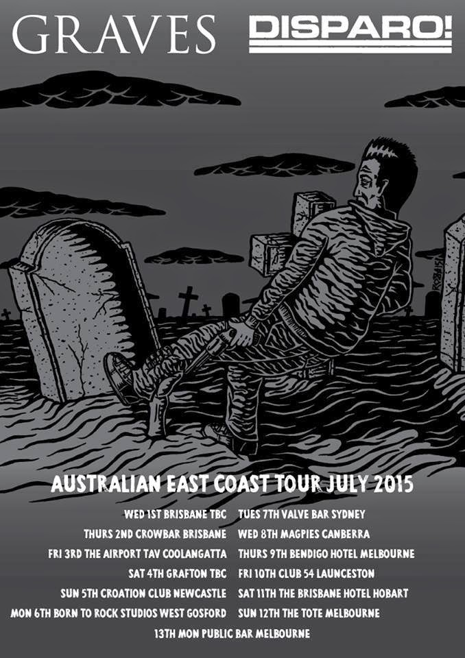 Graves Aussie East Coast Tour