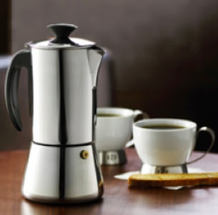 trudeau espresso maker and cups