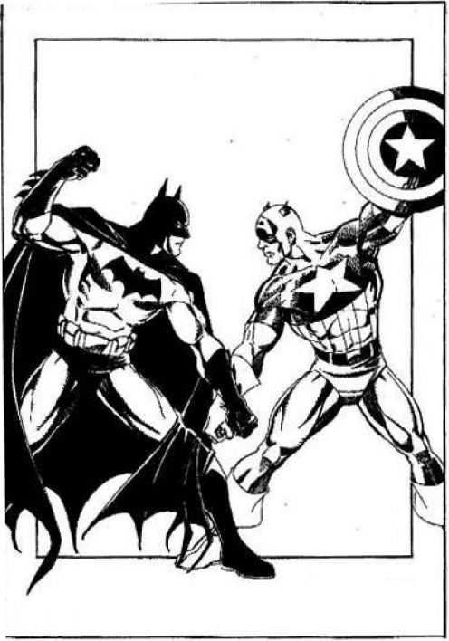 Fun Coloring Pages: Captain America Coloring Pages