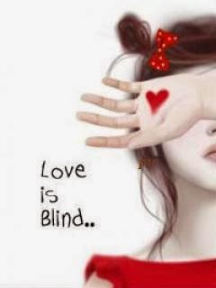 love is blind 240x320 mobile wallpaper
