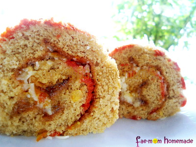 Bolu Gulung Ubi Jalar (Sweet Potato Roll)