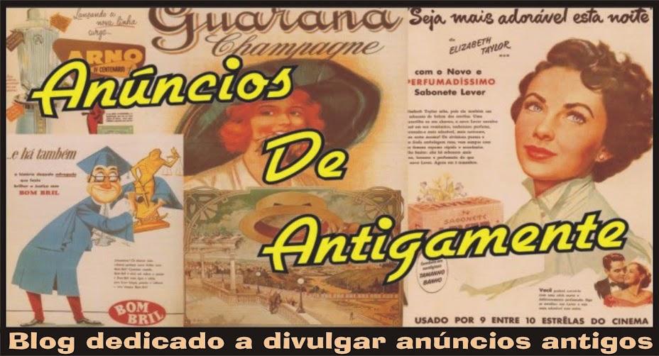 Anúncios de Antigamente