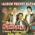 CD Musik Album Trendy Batak (Trio Santana)
