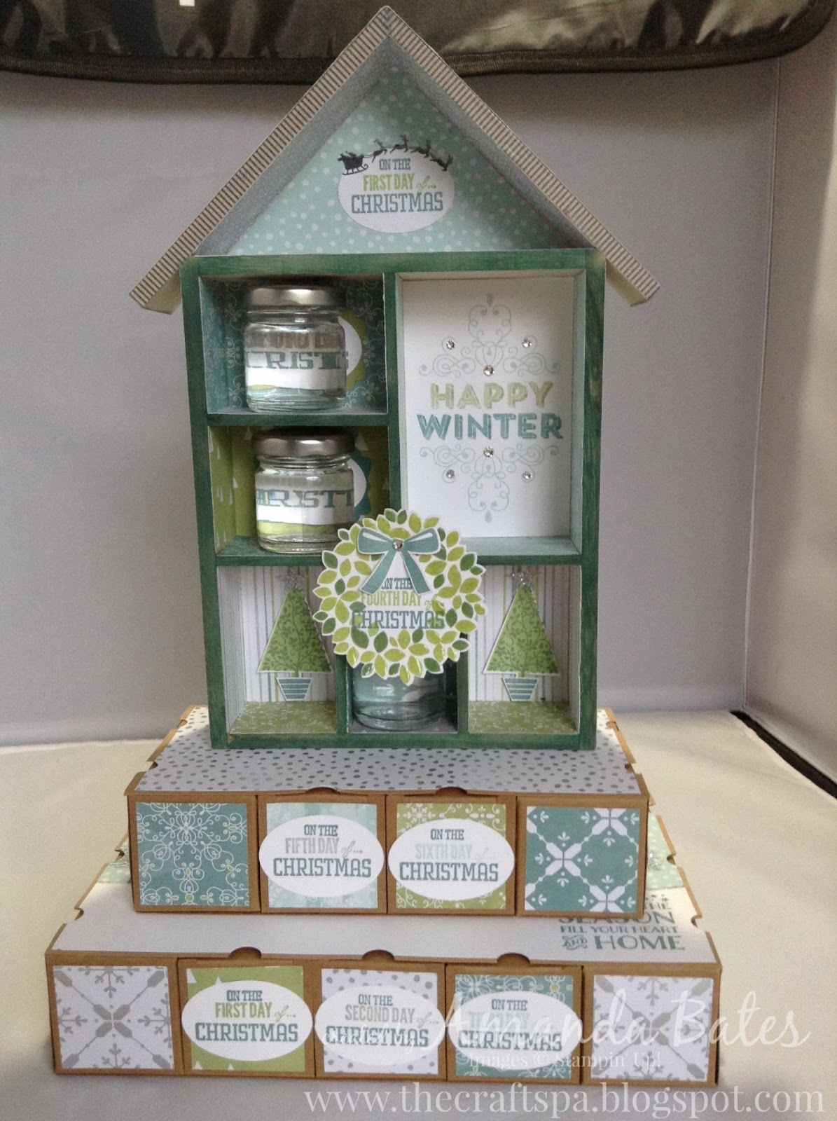 The craft spa stampin 39 up uk independent demonstrator for 12 days of christmas salon specials
