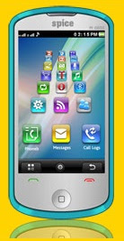 3D Touchscreen Phone Spice M6800 FLO