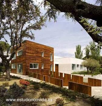 Residencia contemporánea en España