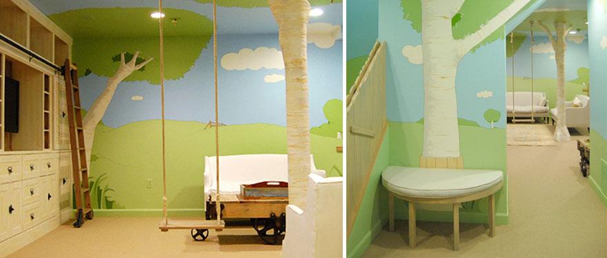 Картинки по запросу идеи детских комнат kid's bedroom ideas Kid's Bedroom Ideas That Will Bring You Back To Childhood chambres enfants geniales creatives 12