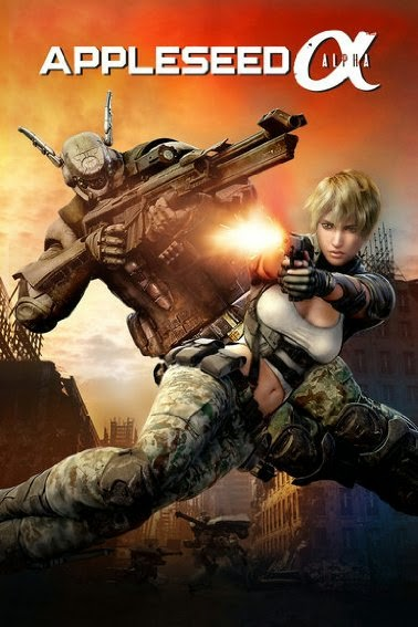 Appleseed Alpha (2014) 720p Bluray