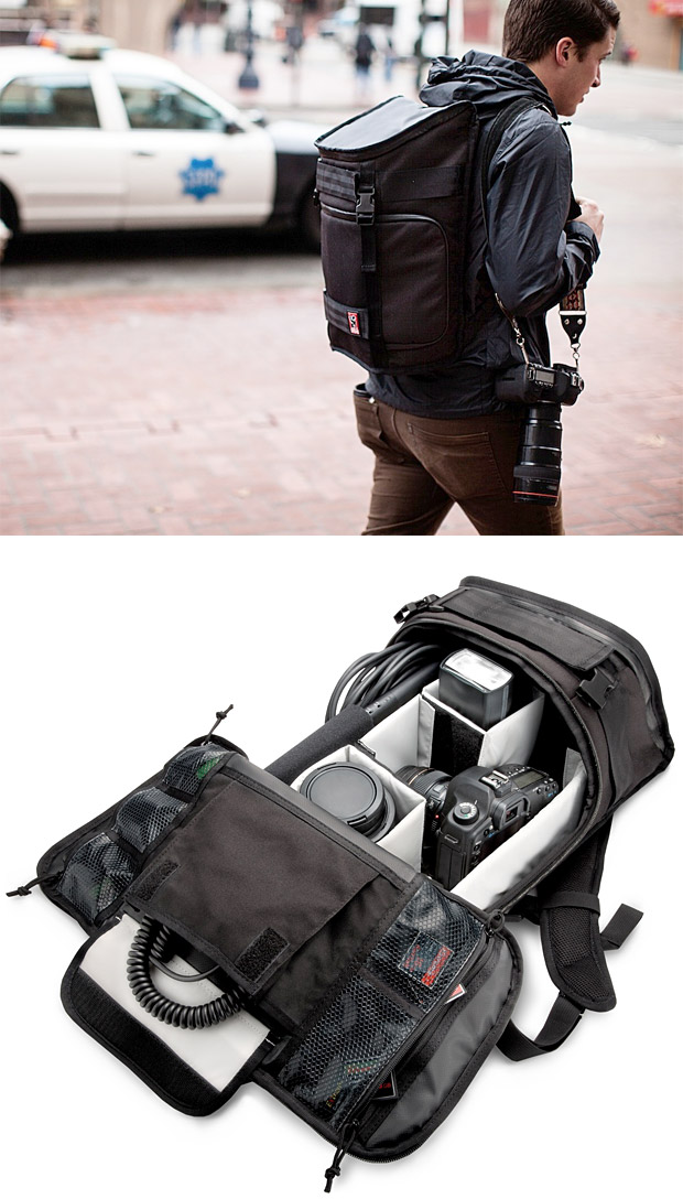 The Chrome Niko Camera Pack, if you'r a photographer who uses a big camera which needs own bag Chrome Niko Camera Pack is ur choice