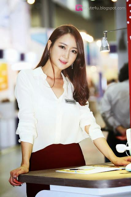 5 Han Chae Yee - Korea Electronics Show 2013-Very cute asian girl - girlcute4u.blogspot.com