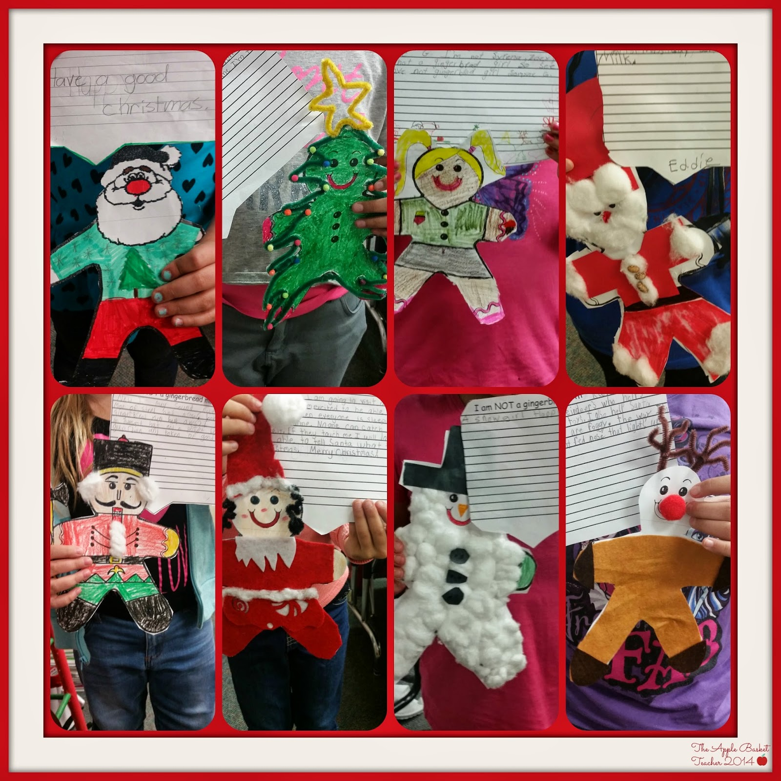 Santa's New Suit; Gingerbread Man Disguises