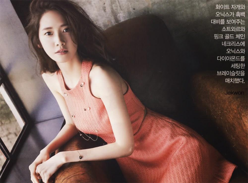 Yoona - InStyle Magazine May Issue 2014
