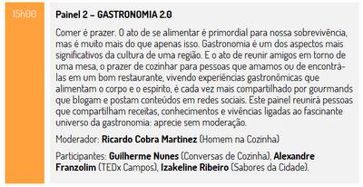 Desencontro, @gnsbrasil, Fortaleza, Desenconto@2012, nordeste brasileiro, internet no interior, Homem na Cozinha, TEDxCampos, fogão, gastronomia 2.0,