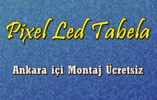 Ankara Pixel Led Tabela