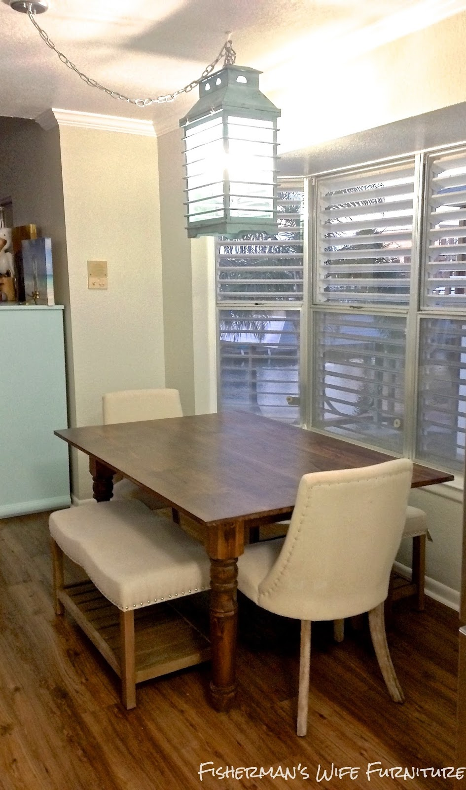 Fishermans Wife Furniture DIY Dining Room Table
