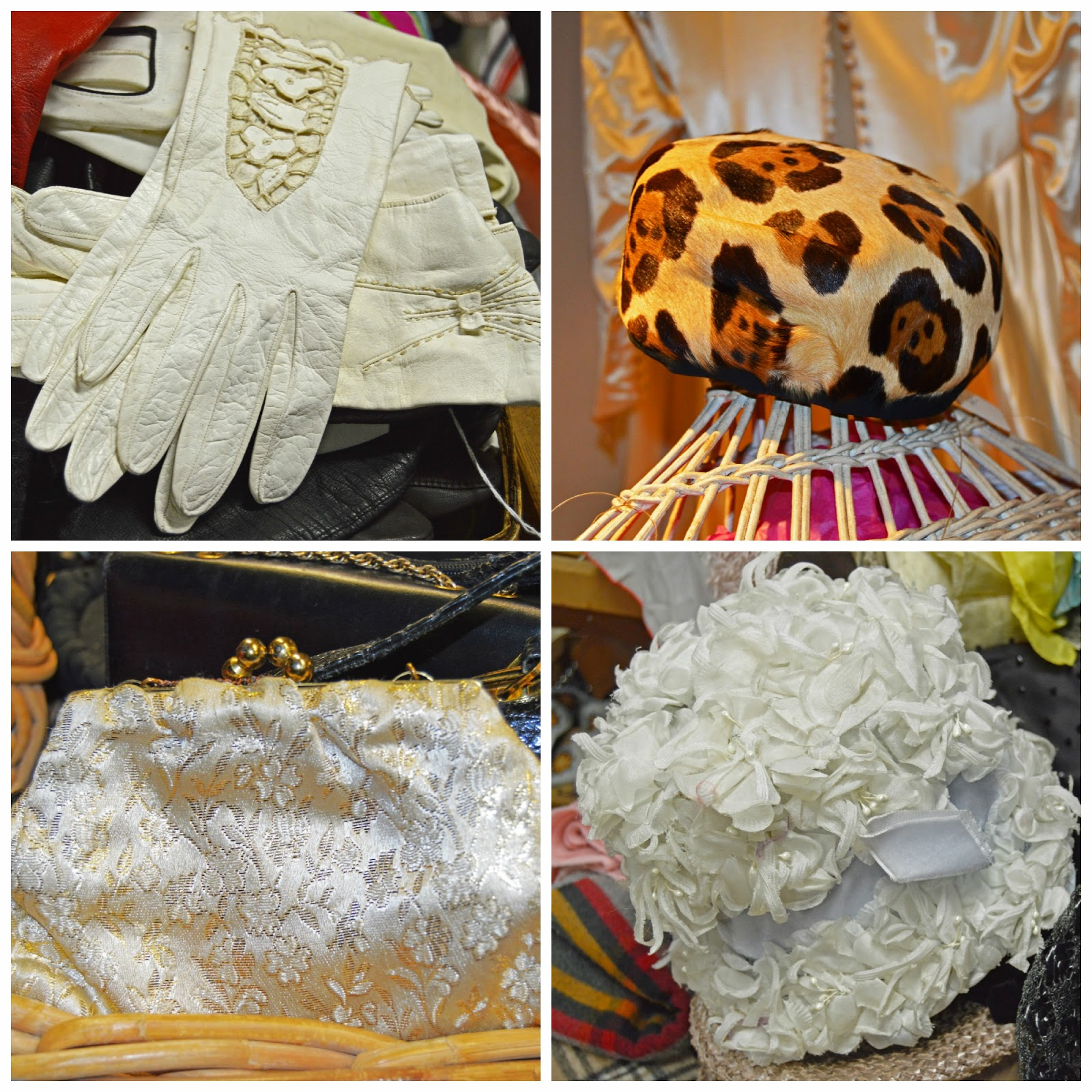 Vintage Accessories-Gloves, Hats, Clutch