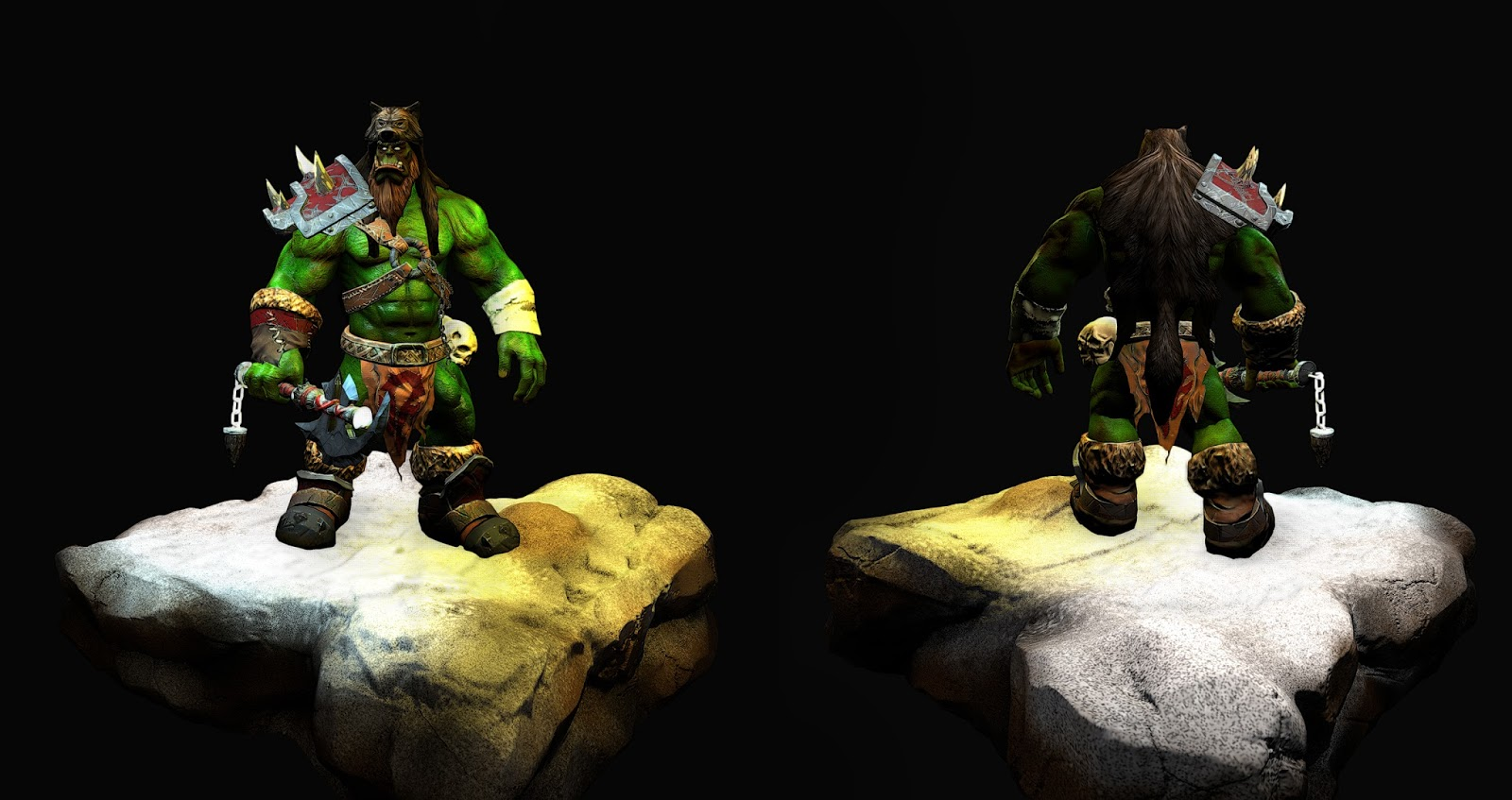3d orcs nude toons