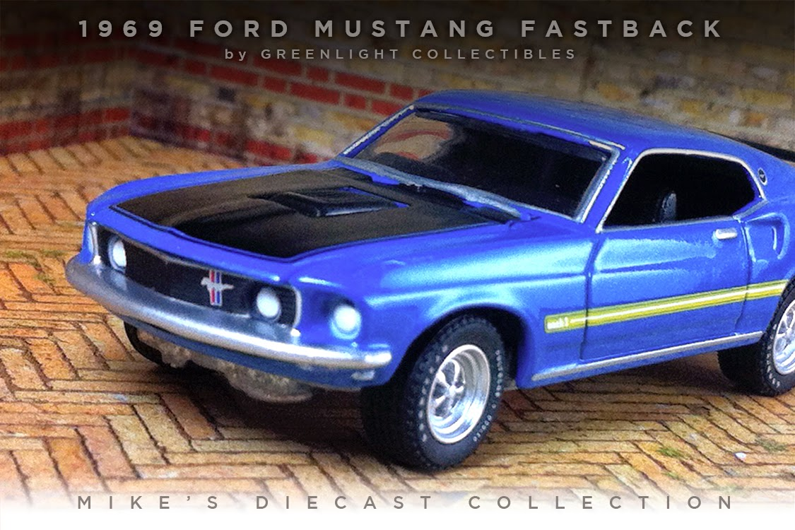 mike 39 s diecast collection 1969 ford mustang fastback. Black Bedroom Furniture Sets. Home Design Ideas