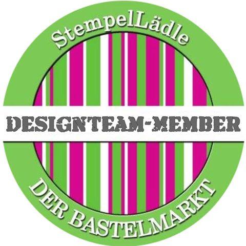 Ich bin im Stempellädle Design-Team