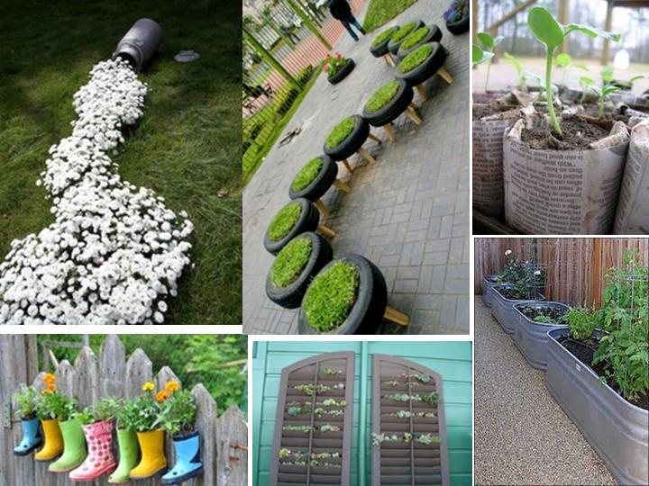 El ba l de madera jardines originales for Jardines pequenos originales