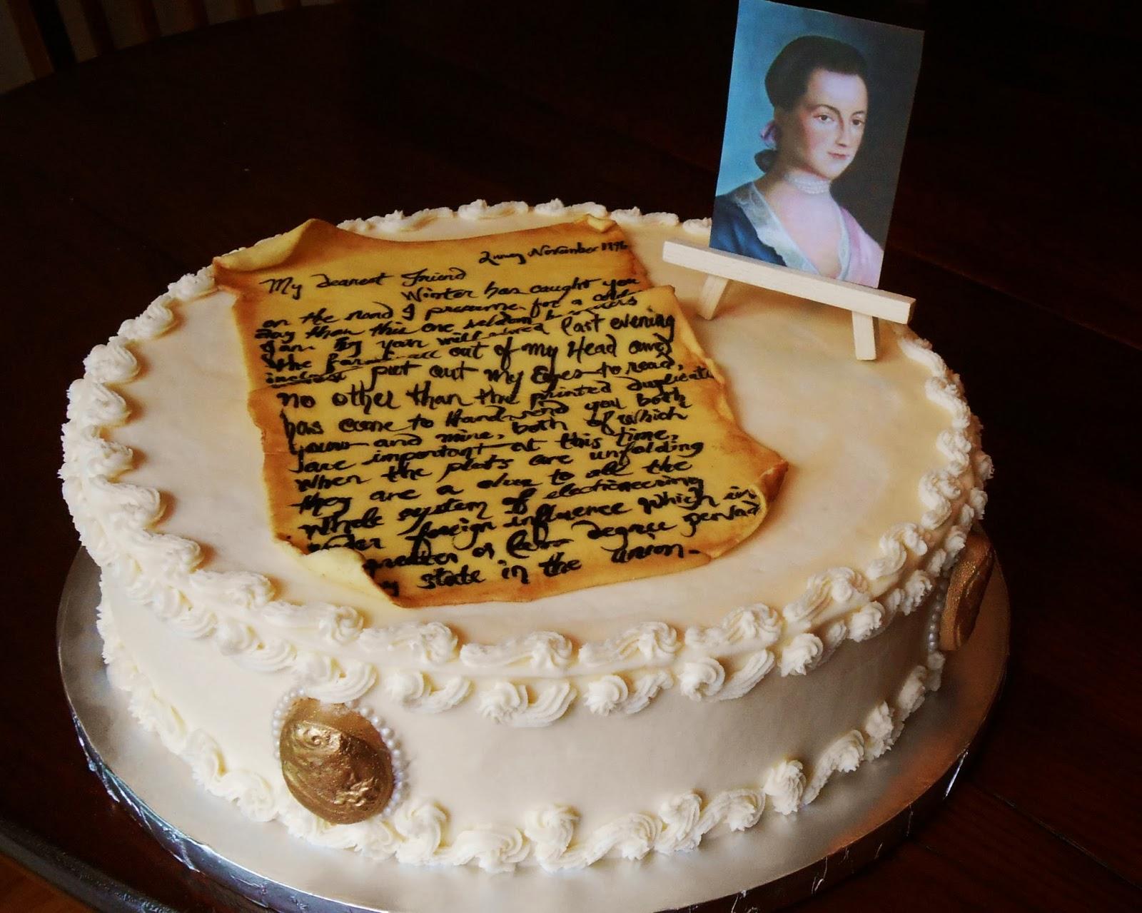 Abigail Adams Cake