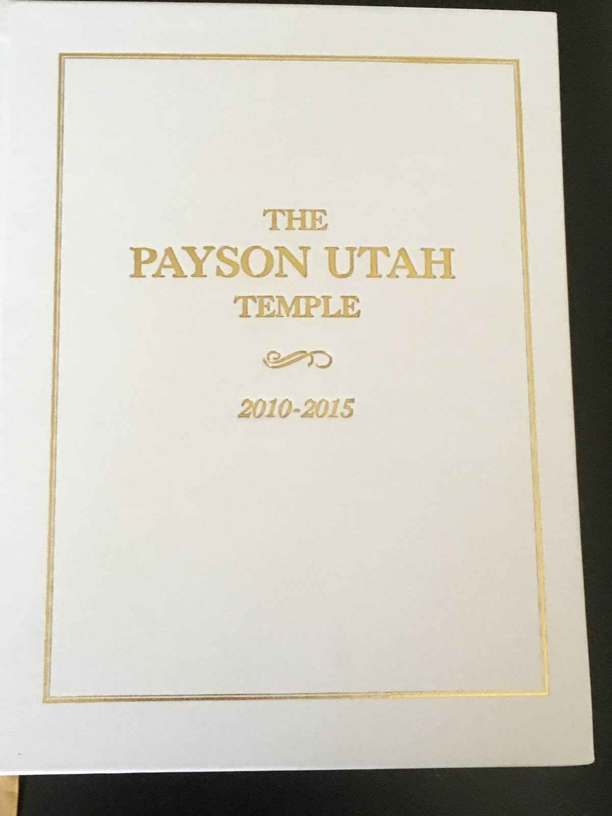 Payson Temple History