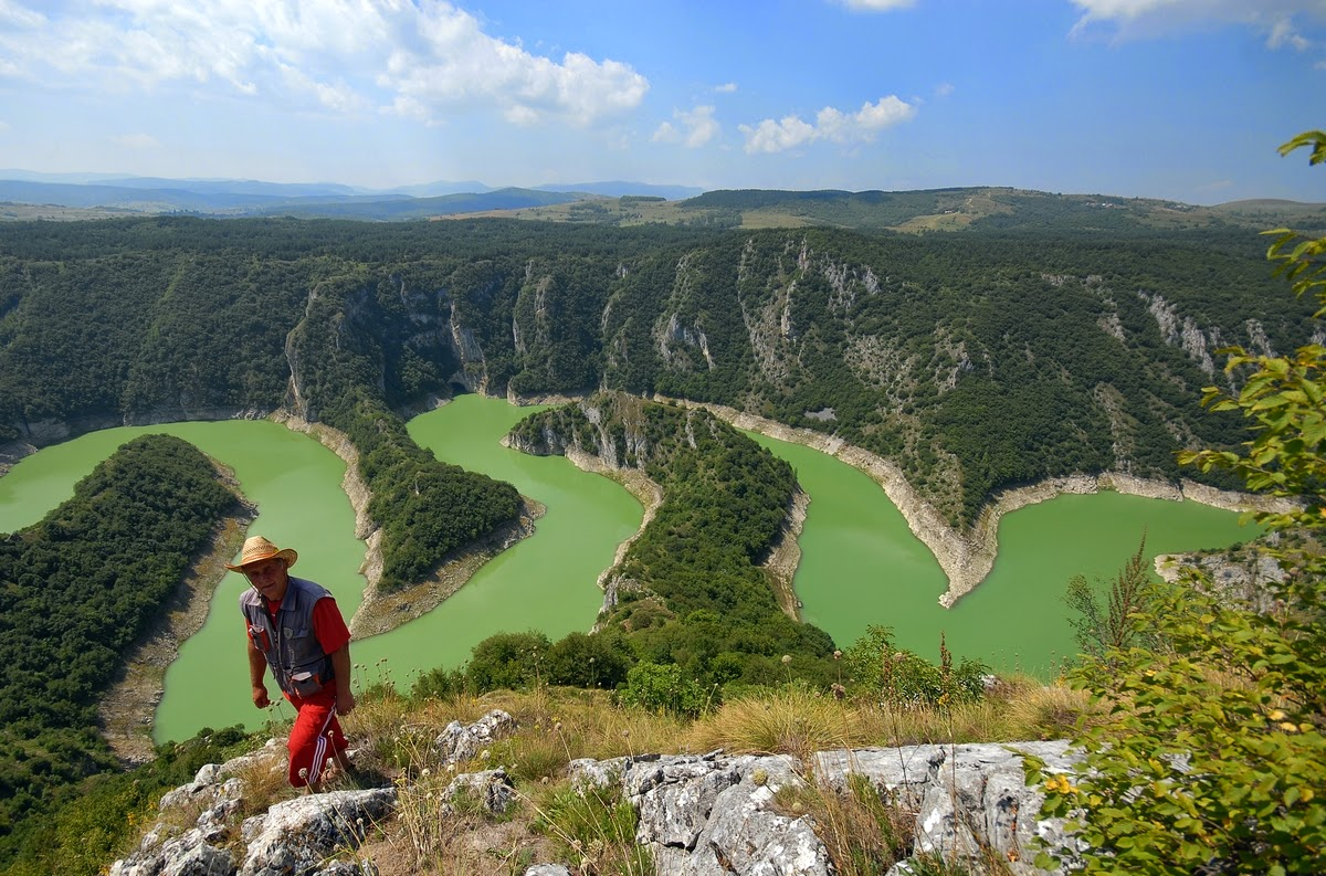 Beautiful Eastern Europe Uvac Canyon Serbia