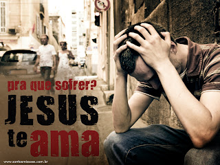 Quando focamos a nossa vida só em cima das coisas materiais,  deixamos para trás o tesouro mais importante que podíamos levar: Jesus!