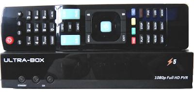 Atualizacao do receptor Ultra box z5 HD V1.17