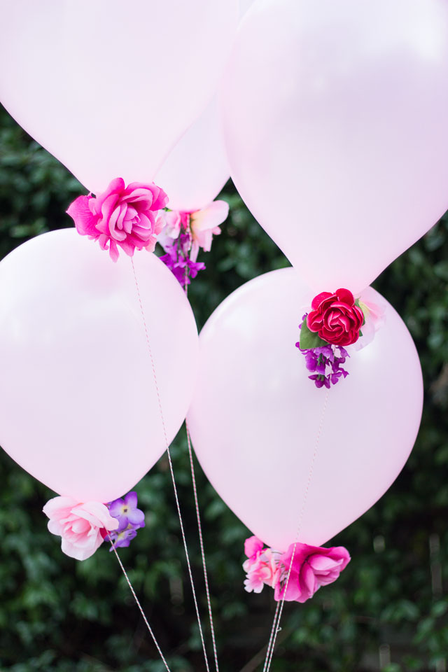 DIY Flower Balloons | Design Improvised