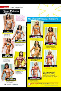 Oxygen Magazine Figure Universe Winners November 2012
