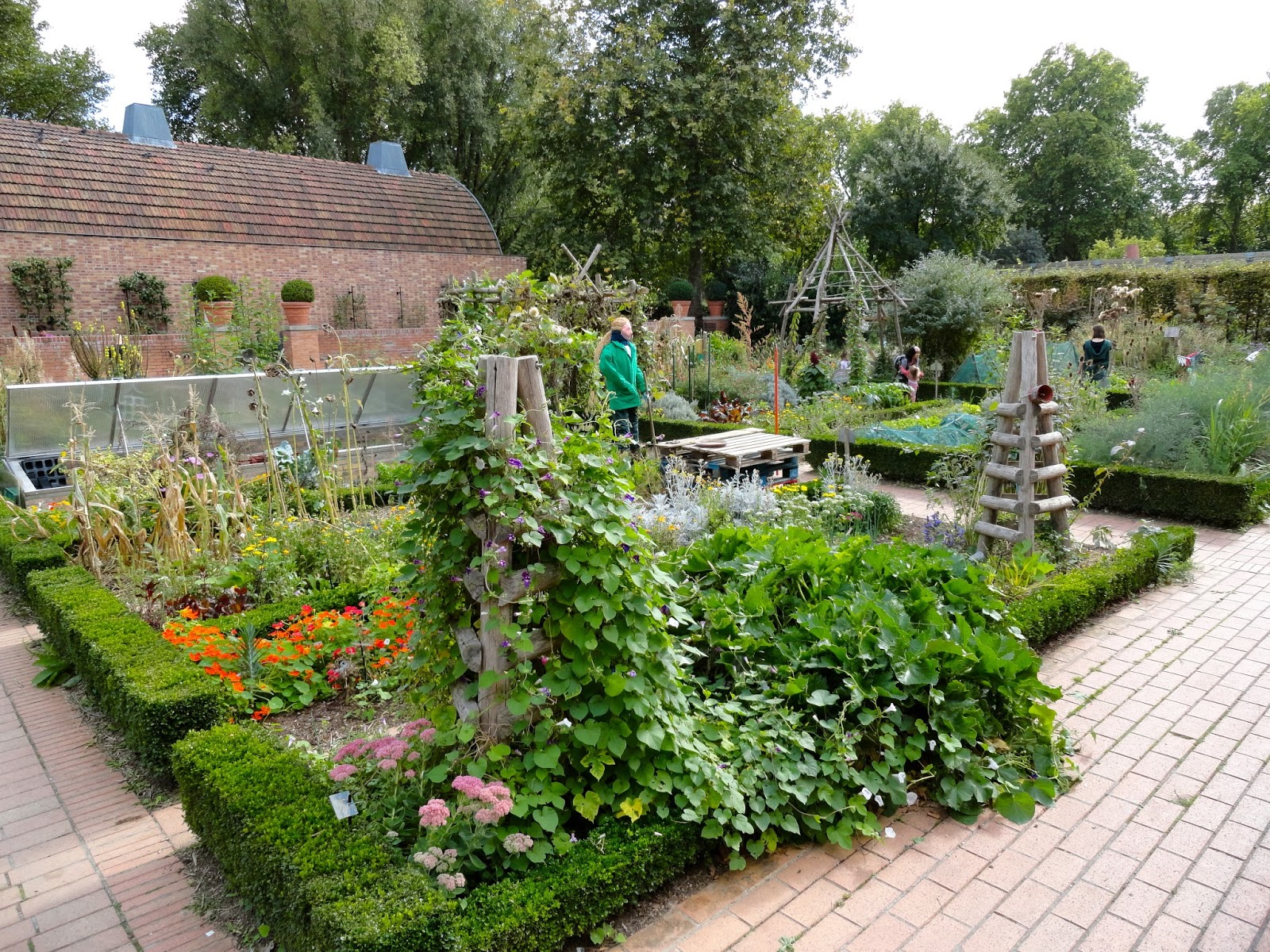 art of the garden structure ideas from a potager garden