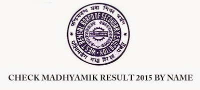 How to check Madhyamik result by name