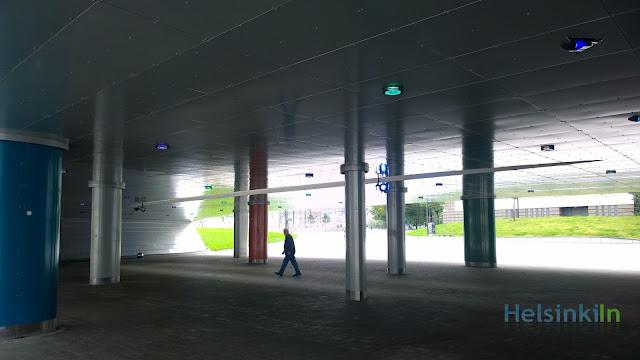 Baana light exhibition