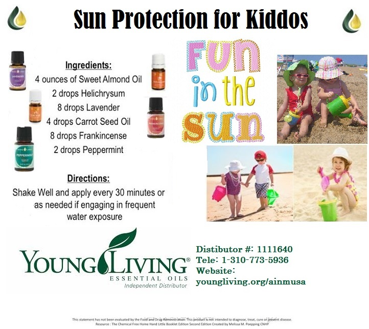 Prepper Essential Oils Diy Natural Sunscreen Protection