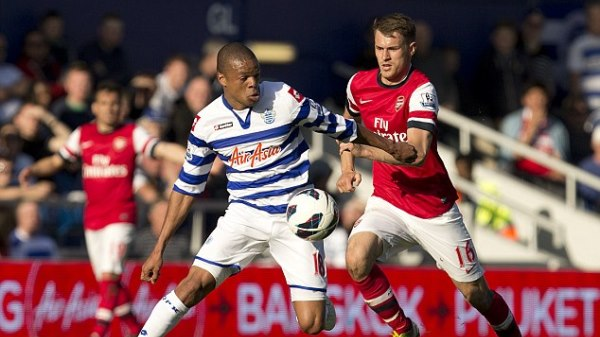 Premier League: Queens Park Rangers v Arsenal  04/05/2013