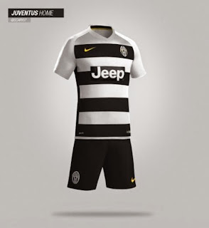 contoh bocoran gambar jersey juventus home nike leaked terbaru musim depan