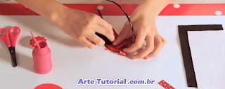 Como fazer uma tiara ou arco para cabelo fácil e simples