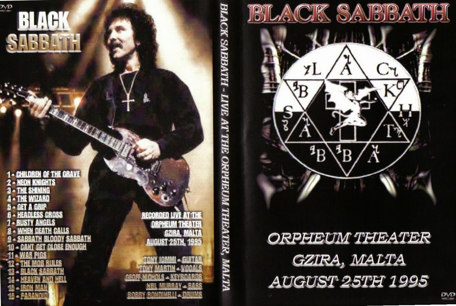 T U B E Black Sabbath 1995 08 25 Gzira Malta