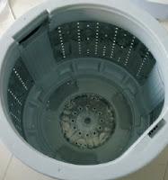 cara membongkar tabung / Drum mesin cuci - bagian dalam