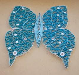 бабочка в квиллинге стиль бихайв