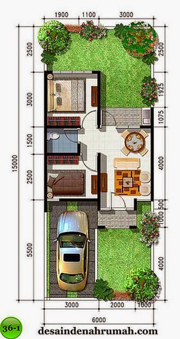 Contoh Desain Rumah Minimalis Tipe 36 Sederhana Namun Elegan