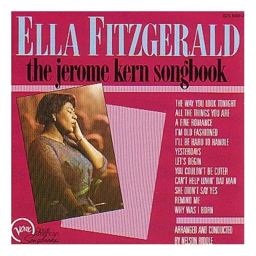 Image result for ella fitzgerald jerome kern songbook