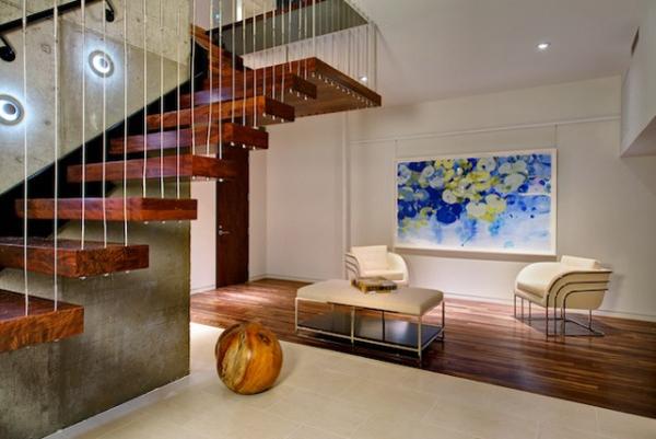 Diseño de interiores & arquitectura: casa en forma de arco llena ...
