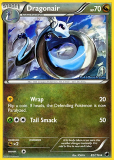 Dragonair Plasma Freeze Pokemon Card