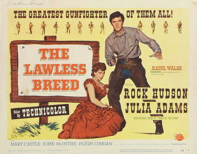 """The Lawless Breed"" (1953)"