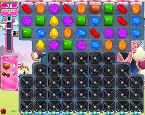 Nivel 82 de Candy Crush Saga
